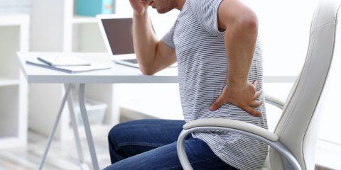 Prevención dolor de espalda en el trabajo